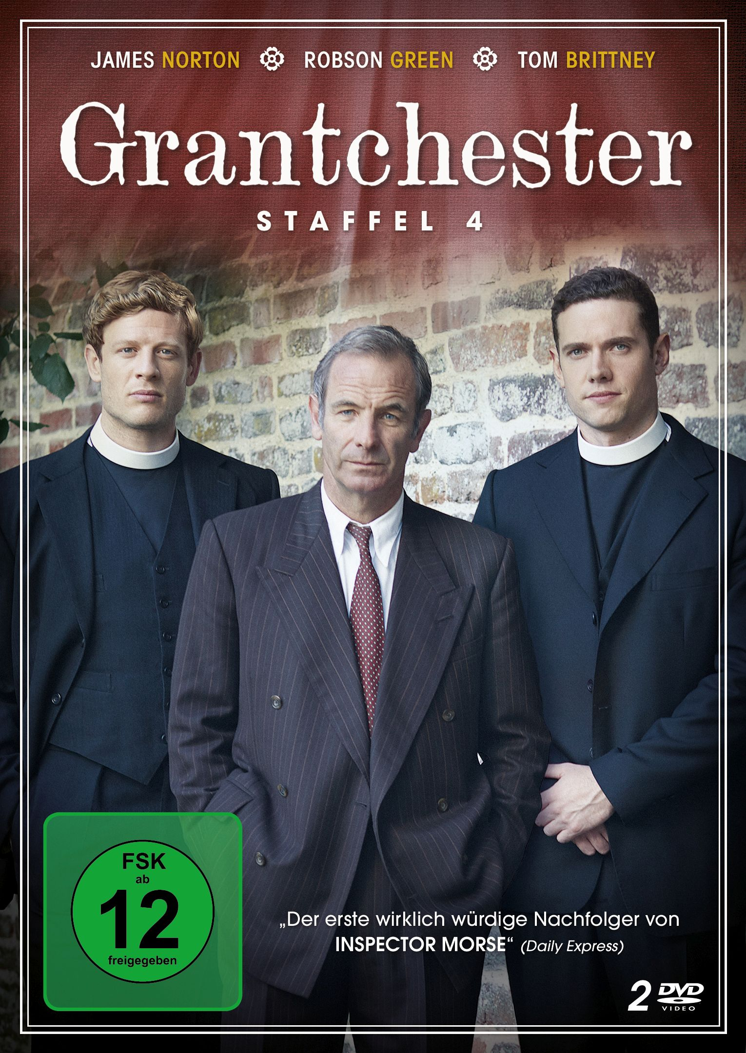 DVD Cover Grantchester 4