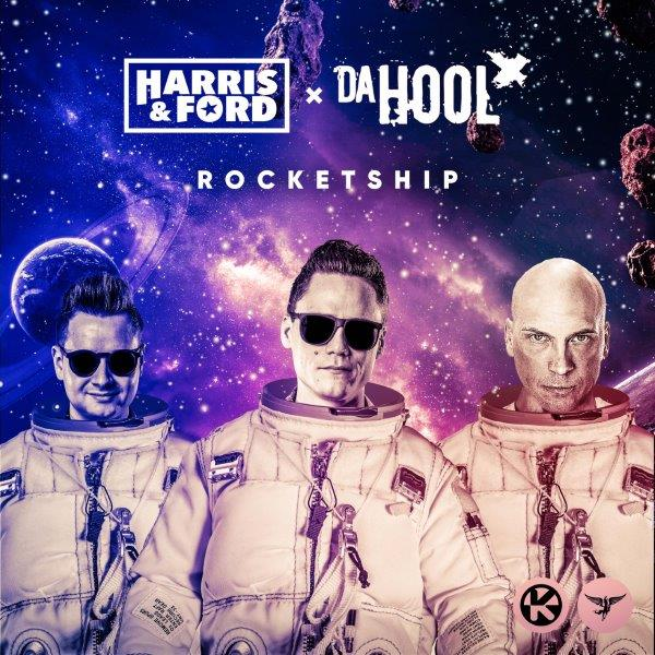 Cover Harris  Ford  Da Hool   Rocketship