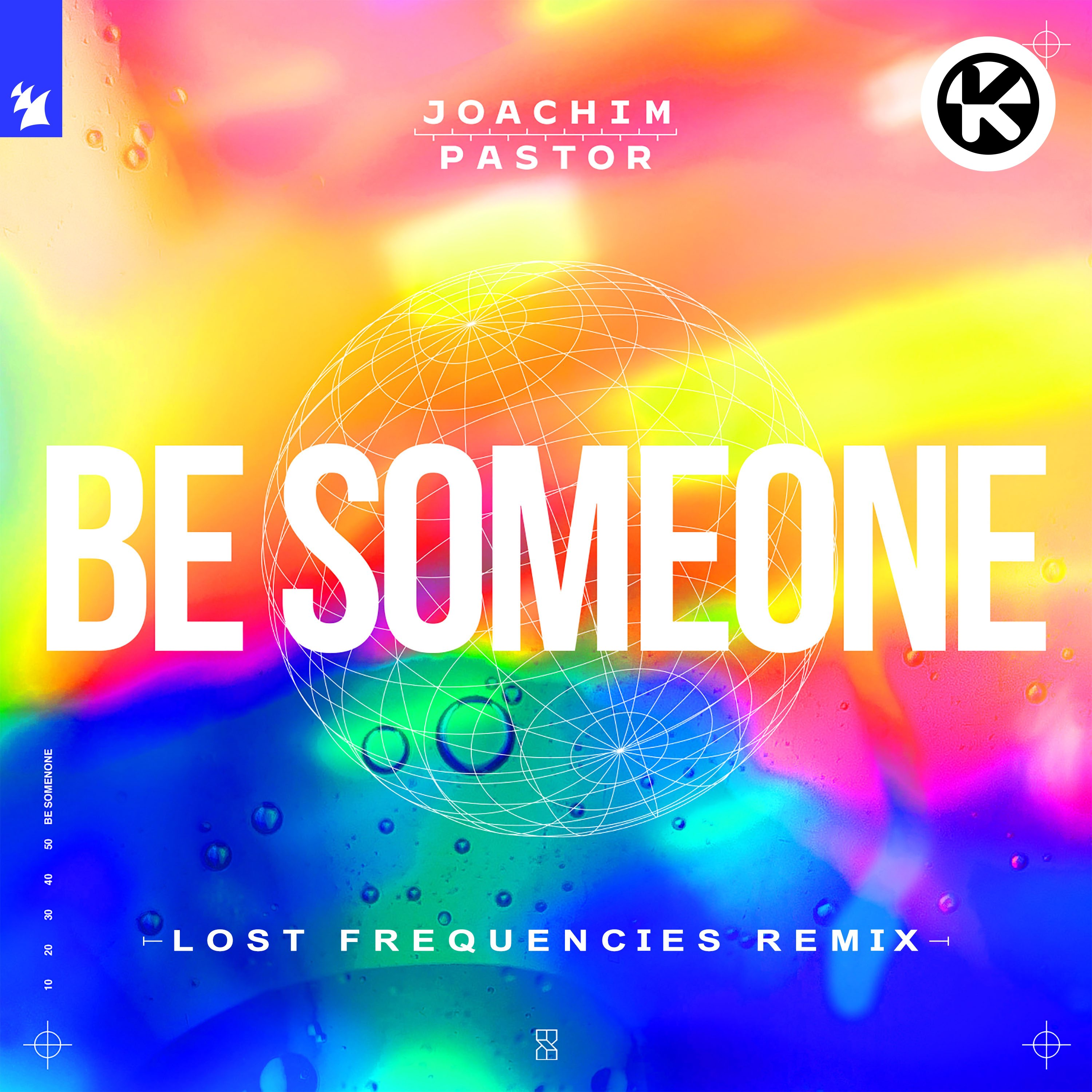 Cover Joachim Pastor feat. EKE   Be Someone Lost Frequencies Remix