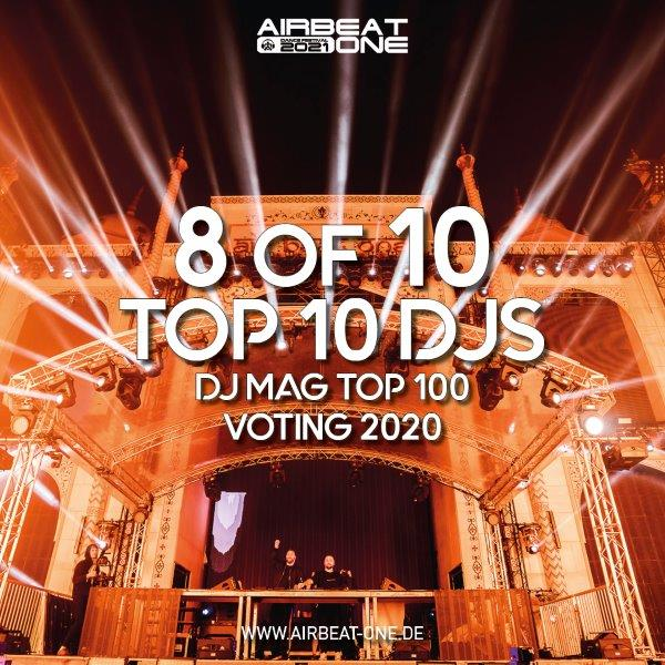 AIRBEAT ONE Banner Top10 DJ Mag Top 100