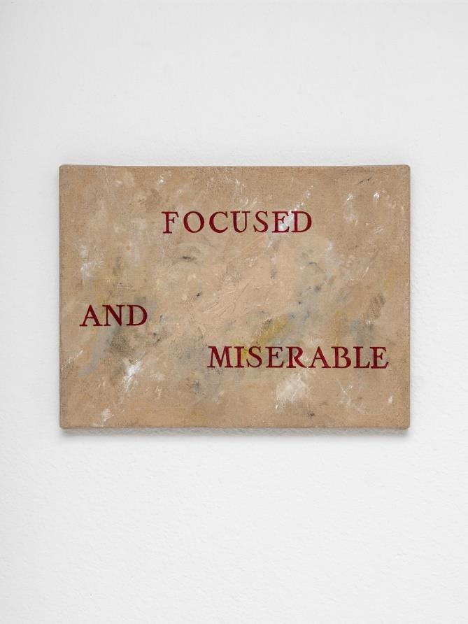 Focused and Miserables Courtesy Galerie Alber